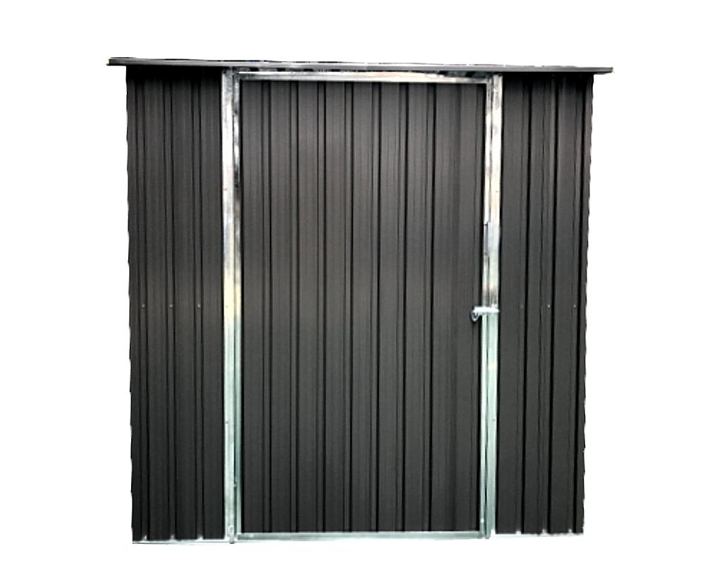 osoltus ger tehaus metall ger tehaus ger teschuppen 194x114x185cm grau ebay. Black Bedroom Furniture Sets. Home Design Ideas
