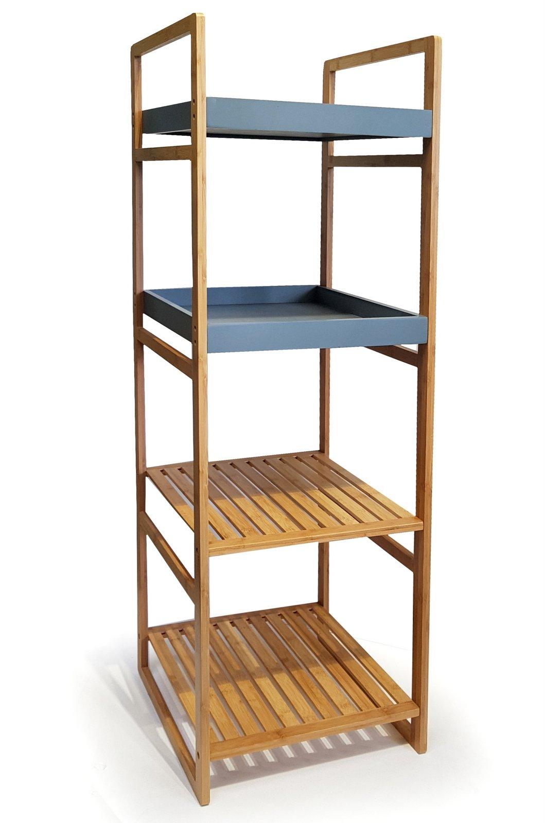 osoltus bambus badregal b cherregal regal bambusregal. Black Bedroom Furniture Sets. Home Design Ideas