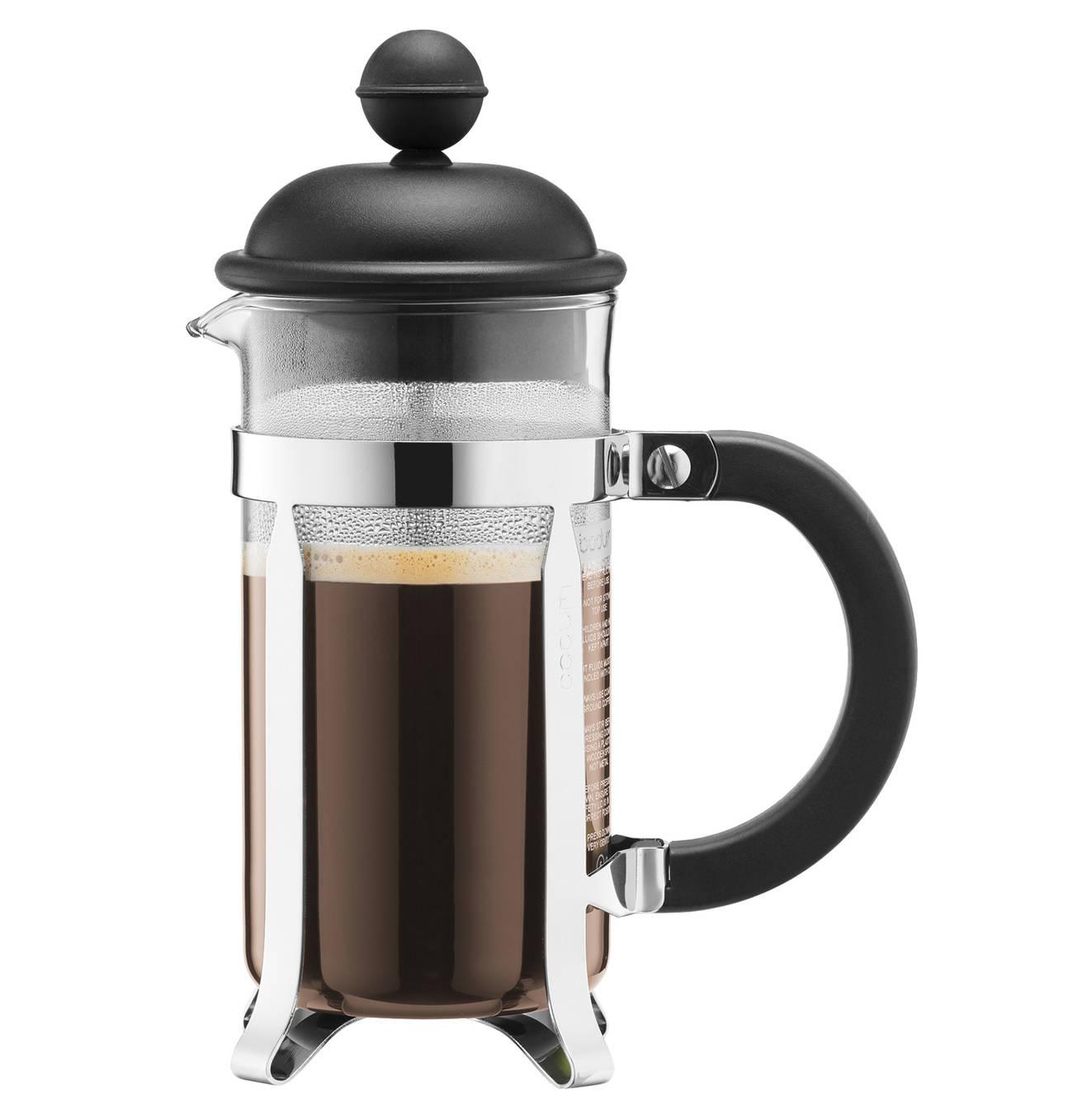 bodum caffettiera french press system kaffeebereiter 0 35l schwarz ebay. Black Bedroom Furniture Sets. Home Design Ideas