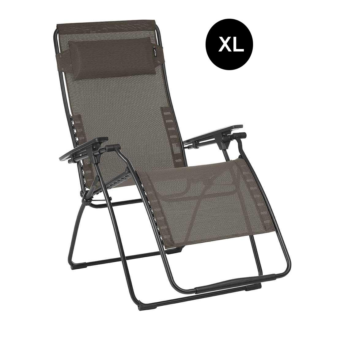 Lafuma Futura Relaxliege Xl Batyline Duo Schwarz Wood Ebay