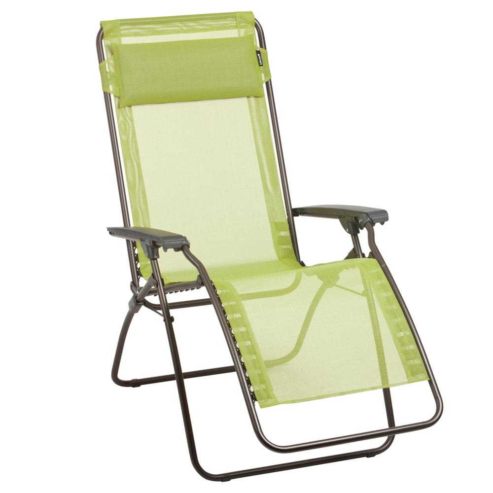 lafuma relax liegestuhl liege r clip papageno gr n ebay. Black Bedroom Furniture Sets. Home Design Ideas