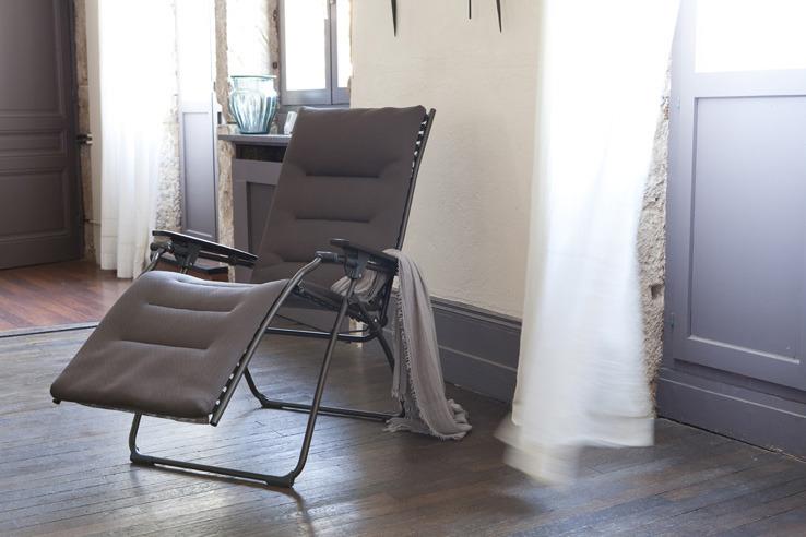 Lafuma Relax Liege Evolution Aircomfort Taupe Polster Braun Ebay