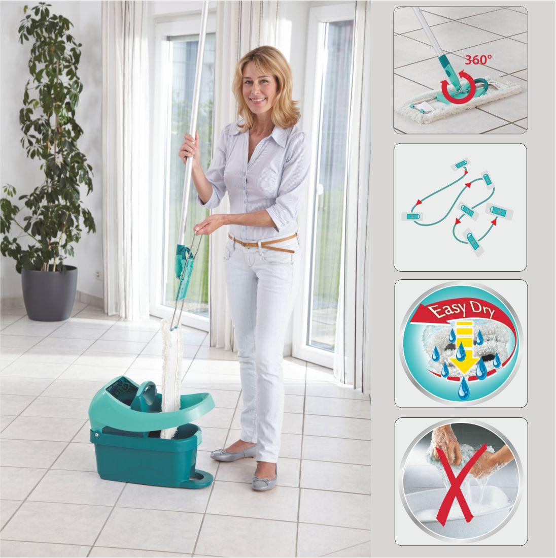leifheit hausrein wischtuchpresse profi rw wischer ebay. Black Bedroom Furniture Sets. Home Design Ideas