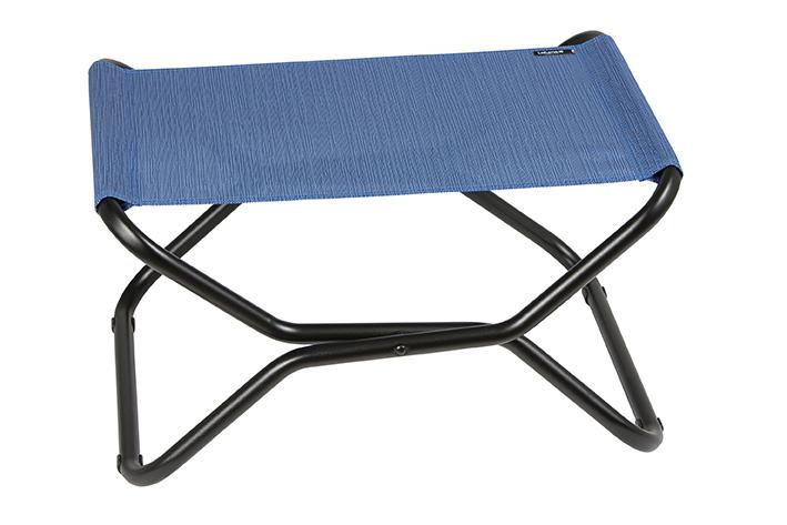 lafuma next hocker outremer blau passend zu transabed xl relaxliegen garten freizeit. Black Bedroom Furniture Sets. Home Design Ideas