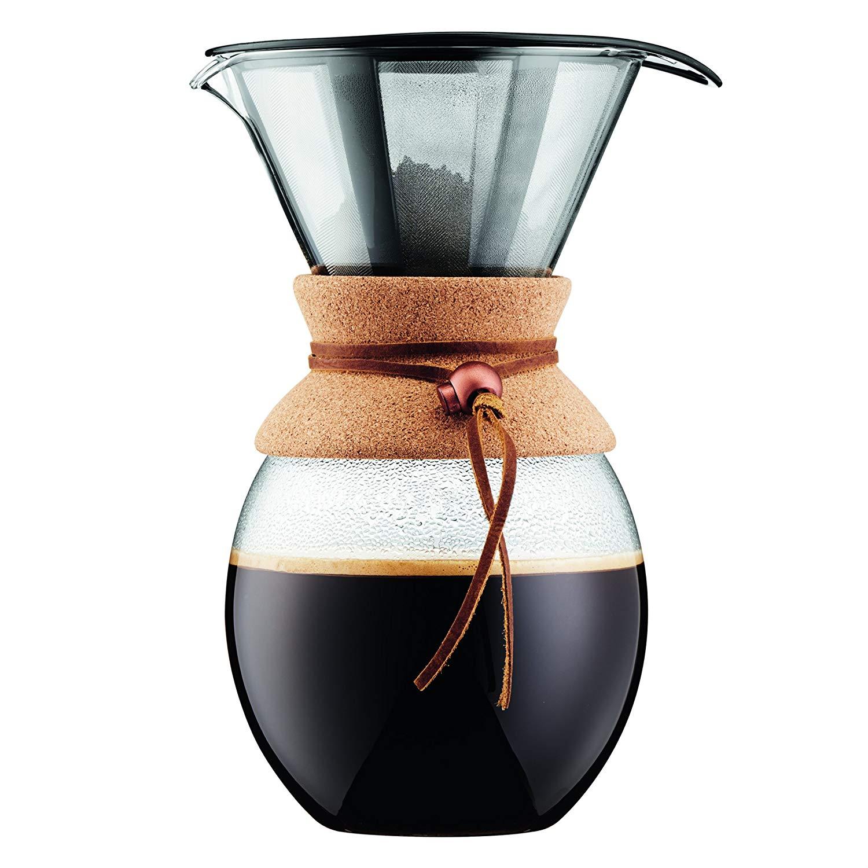 Bodum Pour Over Kaffeebereiter Mit Permanentfilter 15 Liter