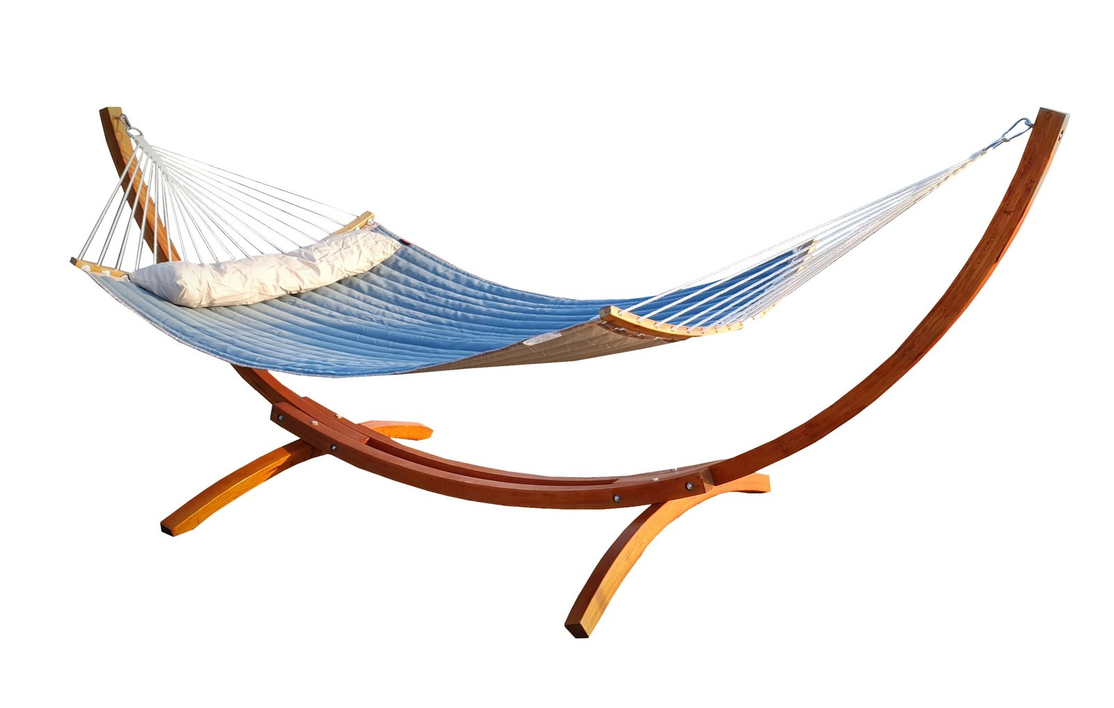 osoltus h ngematte xxl pulau mit holz gestell 360cm l rche. Black Bedroom Furniture Sets. Home Design Ideas